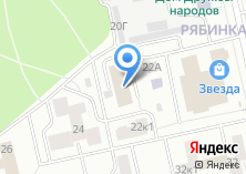 Компания «Волга-Стэк» на карте