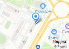 Компания «Техко» на карте