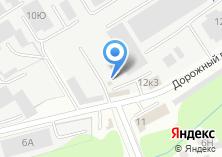 Компания «Милана» на карте