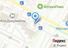 Компания «Фасончик» на карте