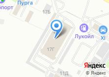Компания «Юникс» на карте