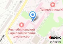Компания «Новочебоксарский психиатрический диспансер» на карте
