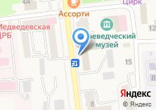 Компания «Медведевский» на карте