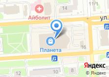 Компания «МАНУФАКТУРА» на карте