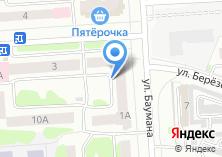 Компания «Заводская» на карте