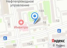 Компания «Сайвер» на карте