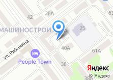 Компания «Мастерская по ремонту обуви на ул.Рябинина» на карте