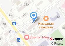Компания «Леста» на карте