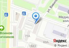 Компания «Арт-Виза» на карте