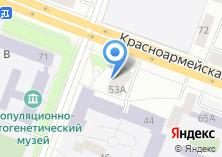 Компания «Салон красоты на ул. Осипенко» на карте