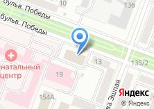 Компания «ПрофиОкна» на карте