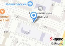Компания «Адвокатский кабинет Рябининой М.С» на карте