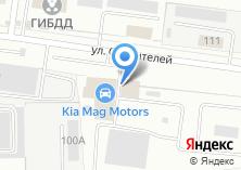 Компания «Daewoo MAG Motors» на карте