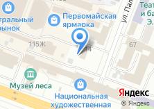 Компания «Магазин обоев» на карте