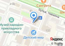Компания «Хрусталик» на карте