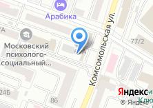 Компания «Элитком» на карте