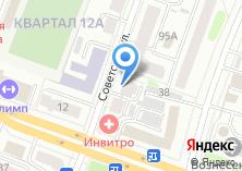 Компания «Технодача» на карте