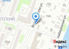 Компания «Строящееся административное здание по ул. Вознесенская» на карте