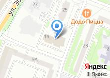 Компания «Фитнеслайн» на карте