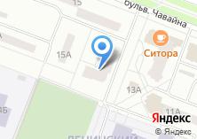 Компания «Плёс» на карте