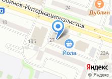 Компания «ДеньгиСрочноВсем» на карте