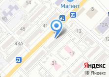 Компания «Московский Индустриальный банк» на карте