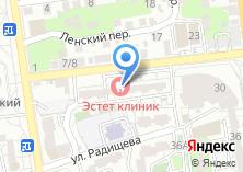 Компания «Эстет клиник» на карте