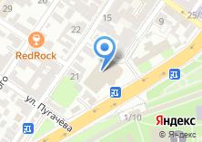 Компания «Строящееся административное здание по ул. Адмиралтейская» на карте