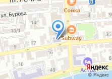 Компания «Газэнергосеть Астрахань» на карте