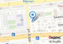 Компания «Горячие пончики» на карте