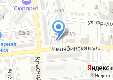 Компания «Продуктовый магазин на Челябинской» на карте