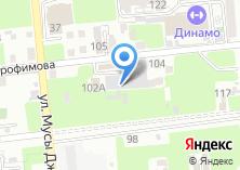 Компания «Бадразвес» на карте