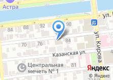 Компания «Астраханская Медицина» на карте