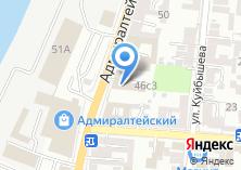 Компания «Адреса» на карте