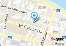 Компания «Министерство сельского хозяйства Астраханской области» на карте