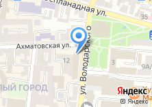 Компания «МегаФон оператор сотовой связи» на карте