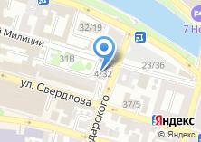 Компания «Нике» на карте