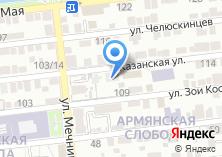 Компания «Стартлайн-АСТ» на карте