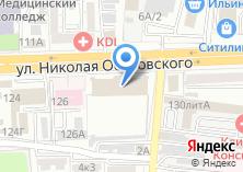 Компания «IService» на карте