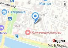 Компания «Астраханьавтодор Управление автомобильными дорогами общего пользования» на карте