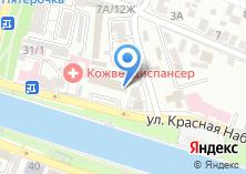 Компания «БизнесАналитика» на карте
