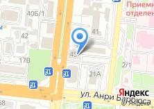 Компания «Пицца Престо» на карте