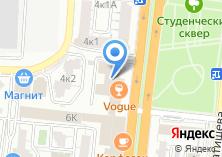 Компания «Тетрис» на карте
