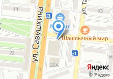 Компания «Единная Оконная Служба» на карте