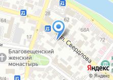 Компания «Обедофф» на карте