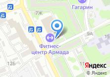 Компания «Строящееся административное здание по ул. Воробьёва проезд» на карте