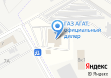 Компания «АГАТ-Плюс автоцентр официальный дилер Hyundai Ford Lada» на карте