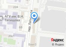 Компания «Астраханское стекловолокно» на карте