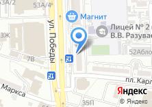 Компания «АКБ Экспресс» на карте