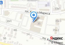 Компания «Муниципальное унитарное автобусно-троллейбусное предприятие» на карте